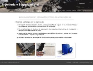reconstruccion-accidentes.es screenshot