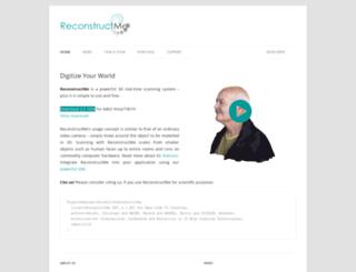 reconstructme.net screenshot