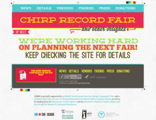 recordfair.chirpradio.org screenshot