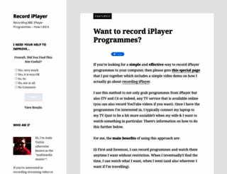 recordiplayer.com screenshot