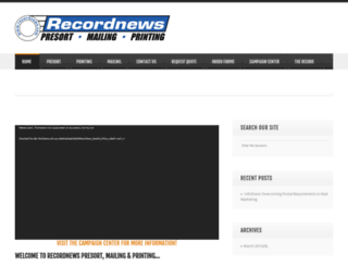recordnews.com screenshot
