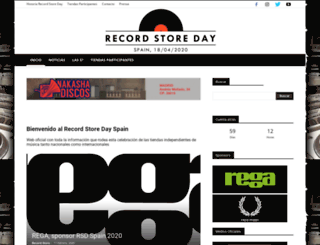 recordstoreday.es screenshot