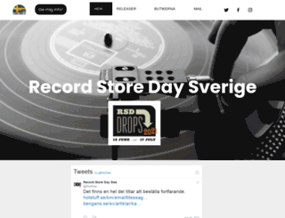 recordstoreday.se screenshot
