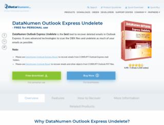 recover-outlook-email.com screenshot