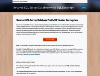 recover-sql-server-database.weebly.com screenshot