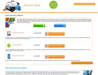recoverdata.in screenshot