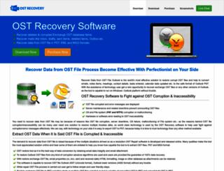 recoverdatafromostfile.net screenshot
