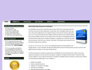 recoverdatatools.org screenshot