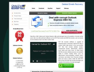 recoverdeletedemails.net screenshot