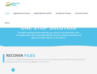 recoverfile.org screenshot