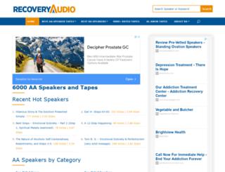 recoveryaudio.org screenshot