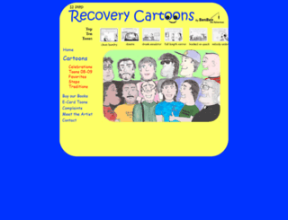 recoverycartoons.com screenshot