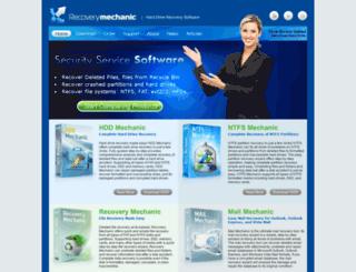 recoverymechanic.com screenshot