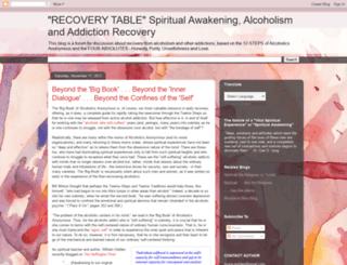 recoverytable.blogspot.ca screenshot