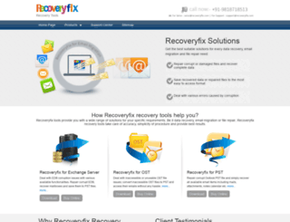recoverytool.org screenshot