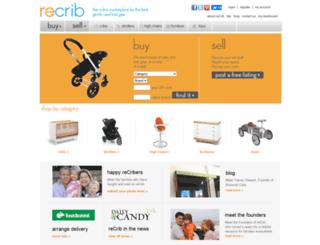 recrib.com screenshot