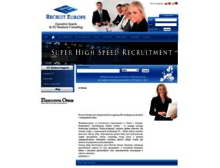 recruit.com.pl screenshot