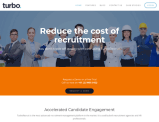 recruitadvantage.com.au screenshot