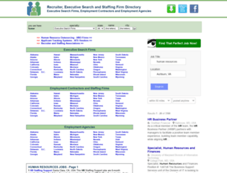 recruiter-directory.info screenshot