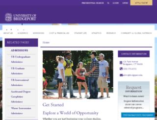 recruiter.bridgeport.edu screenshot