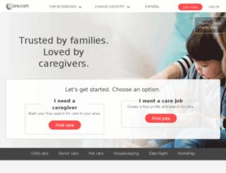 recruiting.care.com screenshot