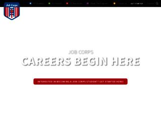 recruiting.jobcorps.gov screenshot