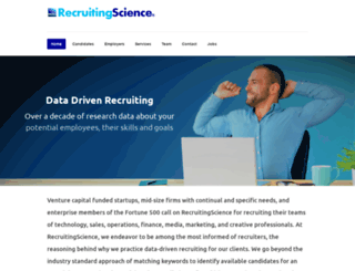 recruitingscience.com screenshot