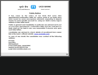 recruitment.ucobank.com screenshot