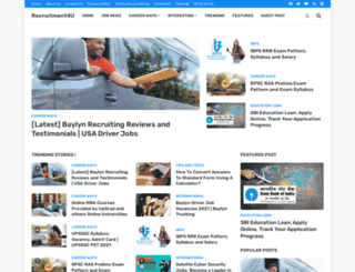 recruitment4u.in screenshot