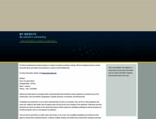recruitmentagencylebanon.tripod.com screenshot