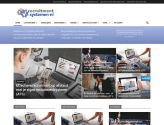 recruitmentsystemen.nl screenshot