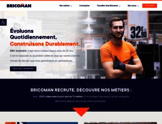 recrute.bricoman.fr screenshot