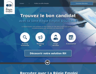 recrutement.jobintree.com screenshot