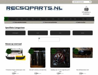 recsoparts.nl screenshot