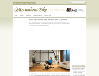 recumbentbikely.com screenshot