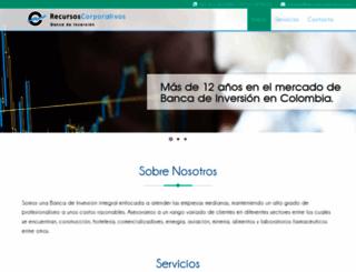 recursos-corporativos.com screenshot