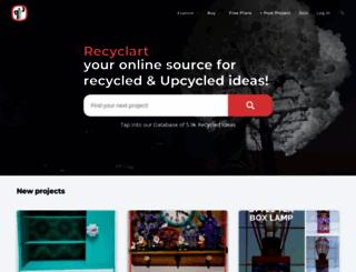 recyclart.org screenshot
