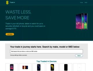 recycle.ee.co.uk screenshot