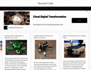 recycled-things.com screenshot
