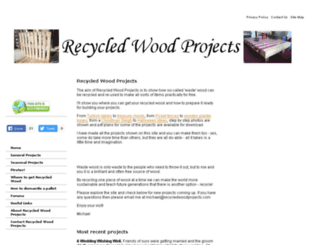 recycledwoodprojects.com screenshot