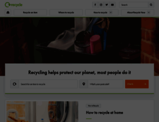 recyclenow.com screenshot