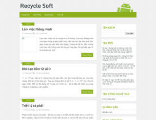 recyclesoft.blogspot.com screenshot