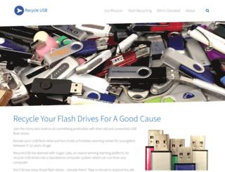 recycleusb.com screenshot