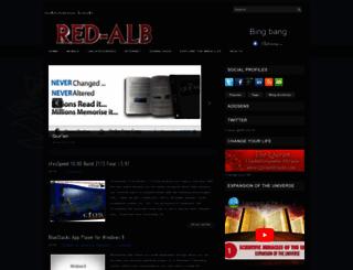 red-alb.blogspot.com screenshot