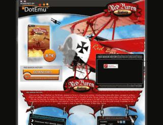 red-baron-history.com screenshot