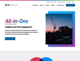 red-on-line.net screenshot