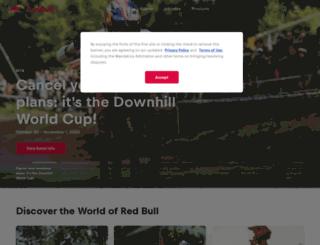 red.redbull.it screenshot