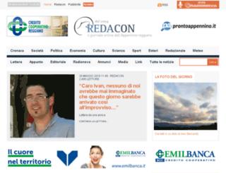 redacon.radionova.it screenshot