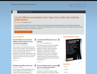 redactionweb.com screenshot