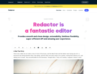 redactorjs.com screenshot